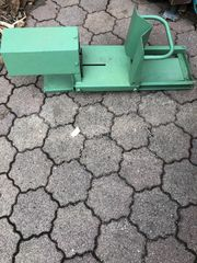 Brennholz Wippsäge mit Starkstrom anschluß