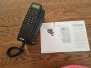 tragbares altes Nostalgie - Autotelefon Siemens