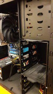 PC-Gehäuse Midi-Tower - teilausgerüstet