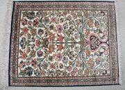 Seidenteppich - Teppich 82x 64 cm