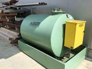 Dieseltank mit Pumpe -
