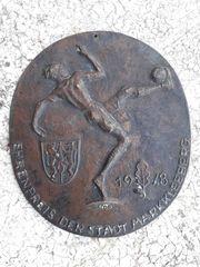 Drittes Reich NS-Zeit Bronzeguss der
