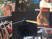 Vinyl-Plattensammlung Rock Pop - ca 120