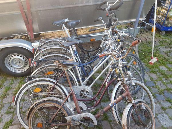 Fahrräder - Einhausen - Biete hier reperaturdürfige (Platten) Fahrräder zwecks Platzmängel an, müssen demnächst weg sind 6 Stk.Bietet mir gerne einen vernünftigen Preis an.Bei Fragen gerne anrufen.015730664727 - Einhausen