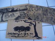 Postkarten aus Holz