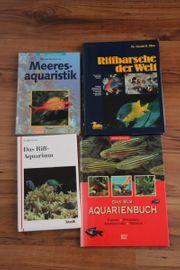 4 Aquarienbücher zu verkaufen