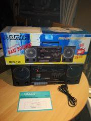 Radio mit Cassettendeck /