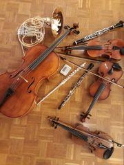 Orchester sucht Geigen