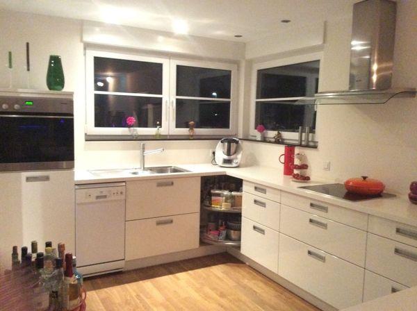 Einbauküche mit geräten  Alno-Einbauküche mit Miele Geräten in Bremen - Küchenzeilen ...