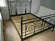 Metall Doppelbett + 2x