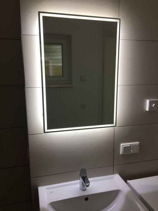 Spiegel / indirekte Beleuchtung LED / Breite 50cm Höhe 90cm ...