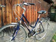Damen - Herren-Fahrrad