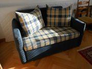 2 er Couch Ausziehbar 120x200cm