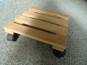 Pflanzenroller aus Holz gebraucht