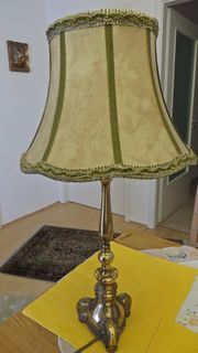 Dekorative Messing Stehlampe