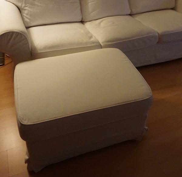Ikea Ektorp Hocker Vittaryd Weiß Gut Erhalten In München Ikea