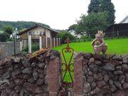 Bauernhaus mit Natursteinscheune