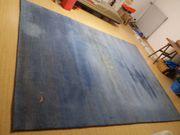 Grosser blau-grauerlTeppich