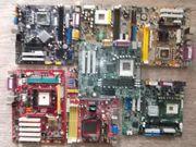 PC Schrott Mainboards,