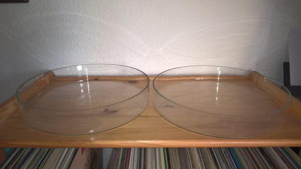 Petrischale aus Kalk-Soda-Klarglas 300x55mm mit
