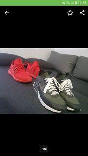 Adidas Tumbular und Nike Air