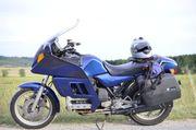 Motorrad Tourer BMW K100RT mit