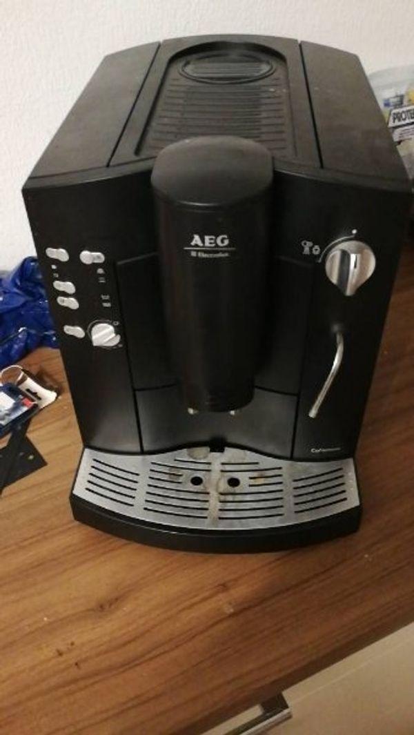 Kaffeevollautomat Aeg Zu Verkaufen In Trier Kaffee