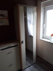 Garderobe Ahorn champagnerfarbig 3-teilig