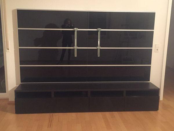tv wand besta framsta von ikea zu verkaufen in graben neudorf ikea m bel kaufen und. Black Bedroom Furniture Sets. Home Design Ideas