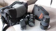 Kamera-Set Pentax
