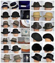 13 Hüte - 20 er bis
