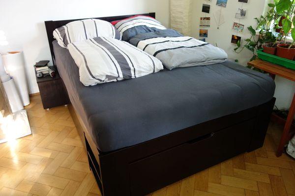 Bett Inkl Lattenrost 140x200 Massivholz In Munchen Betten Kaufen