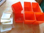 8 Stück Plastikschalen