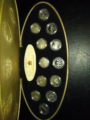 Kanada 12 x 25 Cent-Stücke