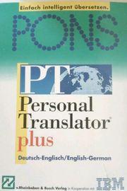 Pons Personal Translator
