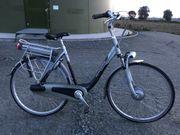 Gazelle Innergy E-Bike Damen Gold-Akku
