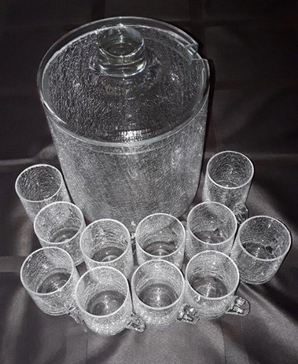bowle set glas ankauf und verkauf anzeigen finde den billiger preis. Black Bedroom Furniture Sets. Home Design Ideas