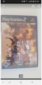 Metal Slug 4 Sony PlayStation