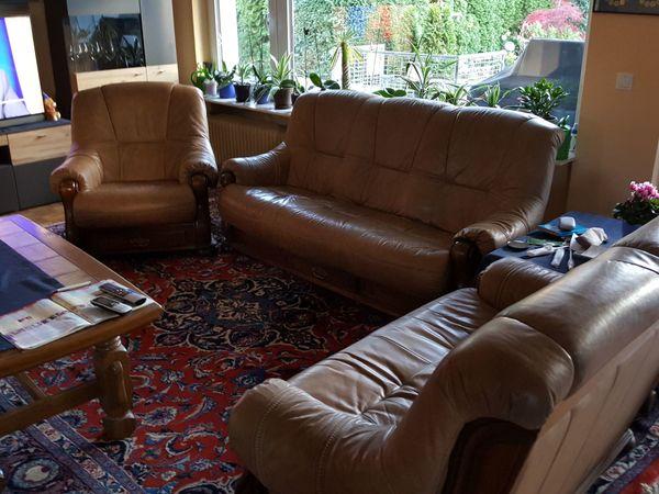 Leder Sitzgarnitur In Neustadt Polster Sessel Couch Kaufen Und