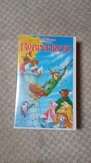 VHS PAL Video Robin Hood