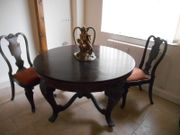 Neobarock Tisch rund