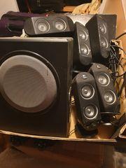 Logitech 5 1 sound system