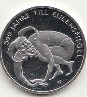 10 Euro Gedenkmünze 2011 Till Eulenspiegel in 625er Silber in Münzkapsel gebraucht kaufen  Alzey