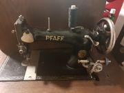 Antike Pfaff Schiffchennähmaschine