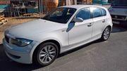 BMW 118d DPF weiss scheckheftgepflegt