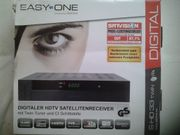 HD-TV Satreceiver mit 6000 Programmplätze