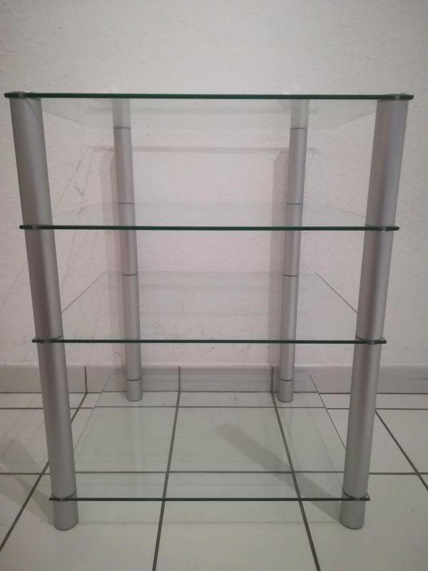 Hifi Rack Regal Glas in Frankfurt - Phono-, TV-, Videomöbel kaufen ...