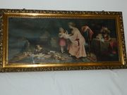 Verkaufe antikes Bild