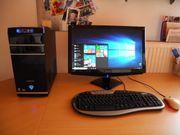 Komplett-PC mit Monitor Tastatur Maus