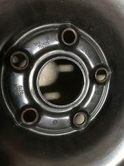 4 Felgen Stahl 6J x